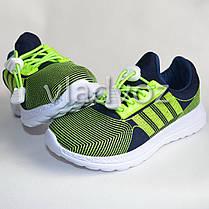 Детские кроссовки для девочки легкие салатовые модель 32р., фото 2