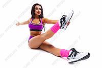 Гетры для фитнеса и танцев 35см gp.01.53