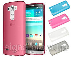 Силиконовый чехол для LG G3s / G3 Mini + защитная пленка