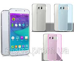 Силиконовый чехол для Samsung Galaxy S6 G920  супертонкий 0.3 мм