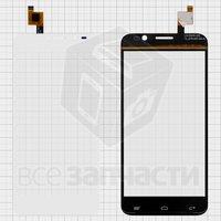 Тачскрин (сенсор) для мобильного телефона Gigabyte GSmart Alto A2, белый