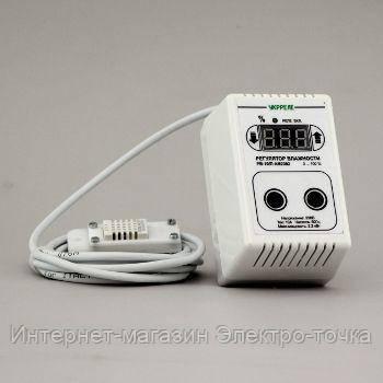 Цифровой измеритель влажности  влагорегулятор для инкубатора РВ-10/П-AM2302 - Электро-точка - розетки, кабель, автоматика, электро- бензоинструмент, электро-обогреватели в Полтаве