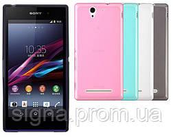 Силиконовый чехол для Sony Xperia M4 Aqua