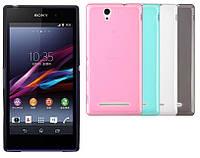 Силиконовый чехол для Sony Xperia Z3 L55T D6653
