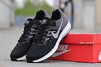 Кроссовки мужские Nike черные с белым