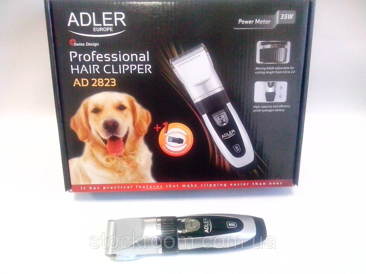 Стрижка для животных ADLER AD 2823 с керамическим лезвием