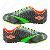 b509ee6c Обувь футбольная сороконожки Razor DWB17709 Black FB180007 (р-р 37-41, черно