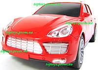 Машина на радиоуправлении Порш Кайен, Porsche Cayenne, длина 22см, аккумулятор, свет