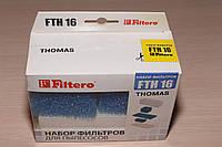 Набор фильтров для пылесоса Thomas Filtero FTH 16, фото 1