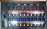 Коллектор Гросс на 8 выходов для теплого пола в сборе, фото 3