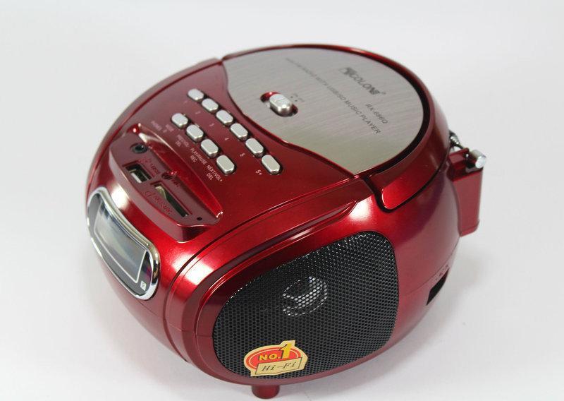 Радиосистема Golon (USB/SD+ FM) RX 686 портативный проигрыватель