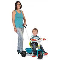 Детский металлический велосипед Smoby с багажником  740314