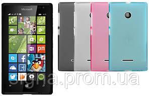 Силиконовый чехол для Microsoft Lumia 435