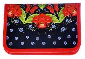 Пенал Цветы JO-17153