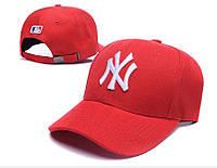 Бейсболка красная New York, NY