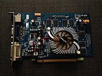 ВИДЕОКАРТА Pci-E GEFORCE 8600 GT на 512 MB с ГАРАНТИЕЙ ( видеоадаптер 8600GT 512mb  )