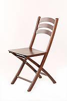Раскладной деревянный стул Силли, Венге темно-коричневый, НЕ черный