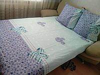 Комплект постельного белья семейный размер БЯЗЬ ЛЮКС  (Л.Е.Н.)