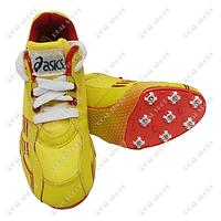 Шиповки беговые Asics S-2006-Y (8 шипов, желтый)