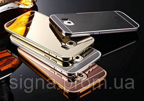 Чехол бампер для Samsung Galaxy S6 G925 зеркальный