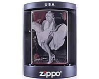 Зажигалка бензиновая Zippo Marilyn Monroe №4220-4.  Запальничка. Зажигалка очень качественная.