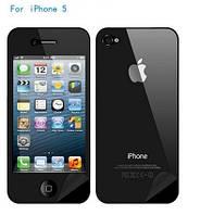 Защитная пленка для iPhone 4 4s на две стороны (перед-зад)