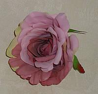 Головка розы пастельный фиолет двухцветный