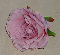 Головка розы пастельный сиреневый