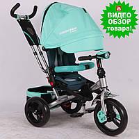 Трехколесный велосипед с ручкой Crosser T 400 для детей от 1 года