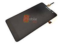Модуль (дисплей + тачскрин) для Lenovo S8 S898T/ S898T+, чёрный Original PRC