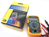 Мультиметр UK-830LN малогабаритный мультиметр с подсветкой дисплея и защитным кожухом!Акция, фото 3