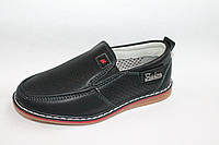 Детские туфли оптом.Детские школьные туфли для мальчиков от фирмы Y.TOP G217-6(8пар 27-32)