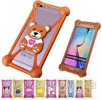 Силиконовый чехол для телефонов Nomi i506 Shine детский
