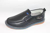 Детские туфли оптом.Детские школьные туфли для мальчиков от фирмы Y.TOP G217-7(8пар 27-32)