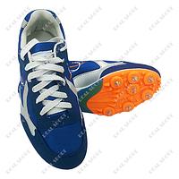 Шиповки беговые Xin-Jing OB-111-2 (8 шипов, синий)