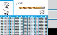 Сверла по металлу HSS-TiN,  GRAPHITE  57H105 - 57H176., фото 1