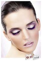 Накладные ресницы перьевые Purple Deluxe Eyelashes
