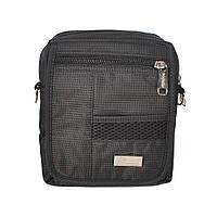 Мужская сумка через плечо из ткани (разные цвета) - Код 87-1528