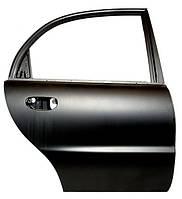 Дверь задняя  правая оливковая  Ланос седан