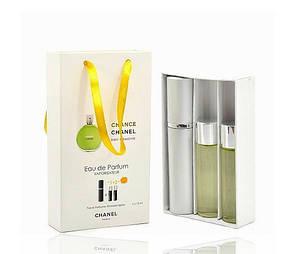 Женский мини парфюм Chanel Chance Eau Fraiche (Шанель Шанс Еу Фреш) 3*15мл