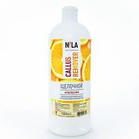 Щелочной пилинг для педикюра Nila remover 1000 ml