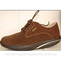 Ортопедические мужские туфли с антискользящей подошвой
