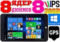 Мощный планшет DIGILAND, 8 ядер INTEL, WINDOWS 10',32 Gb, GPS + гарантия