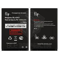 Аккумулятор BL4261 для мобильного телефона Fly DS128, (Li-ion 3.7V 1400mAh), original, #P104-E42000-010