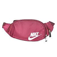 Спортивная женская сумка-бананка - Nike (разные цвета) - Артикул 87-1533