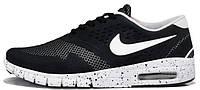Мужские модные кроссовки 2017 Nike SB Eric Koston 2 Max Black White Найк черные