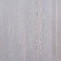 Паркетная доска Focus Floor (Фокус Флор) коллекция Однополосная Дуб Этесиан белый матовый