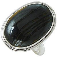 Тигровый глаз, серебро 925, кольцо, 591КЦТ
