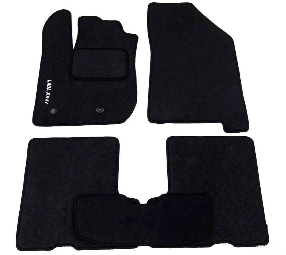 Коврики текстильные для Chevrolet PVC Aveo Lacetti Черный (Чернигов)