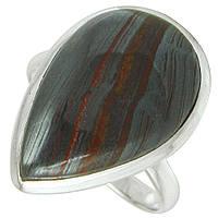 Тигровый глаз, серебро 925, кольцо, 592КЦТ